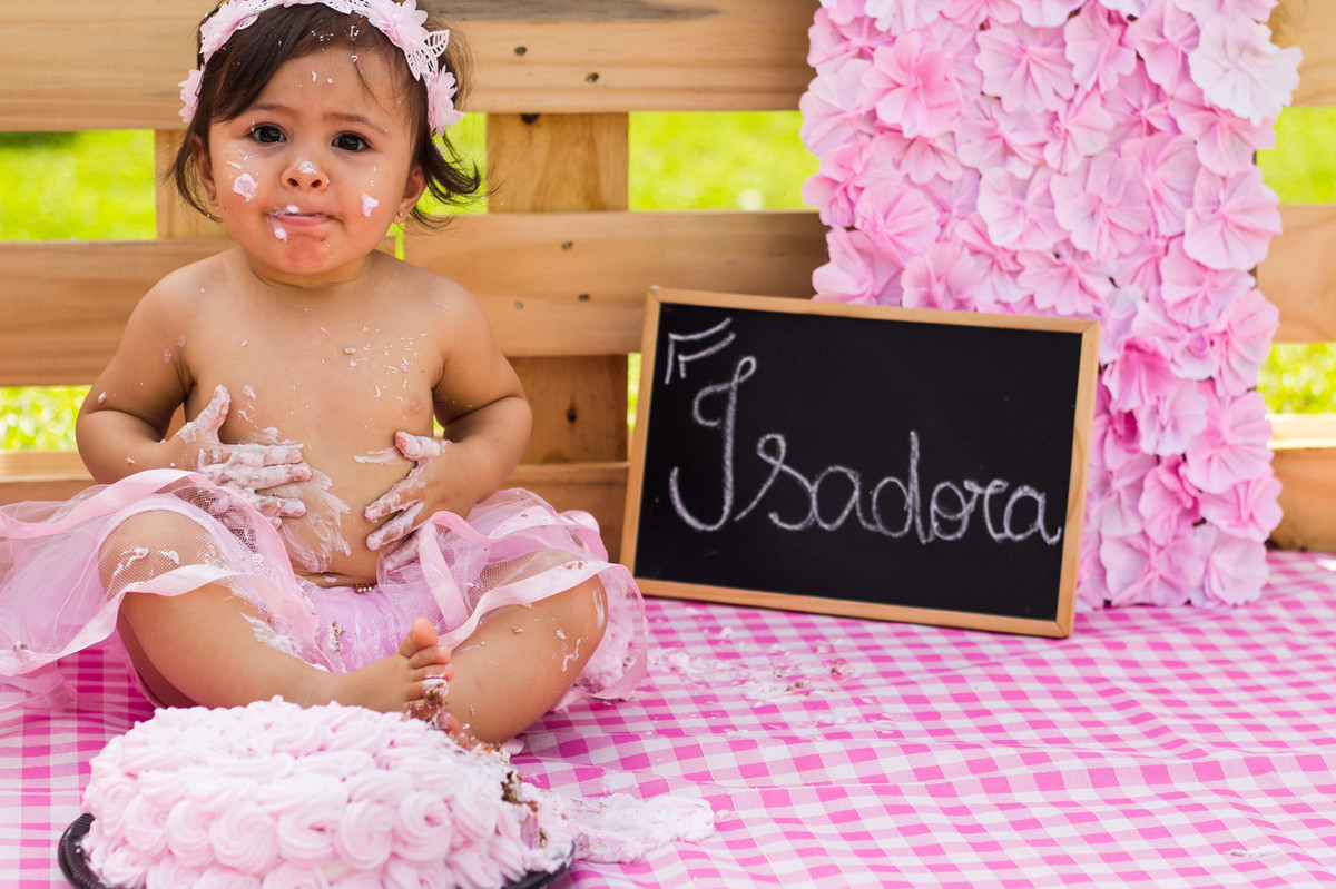 ensaio infantil, smash the cake, smash the cake menina, joinville, fotografia infantil