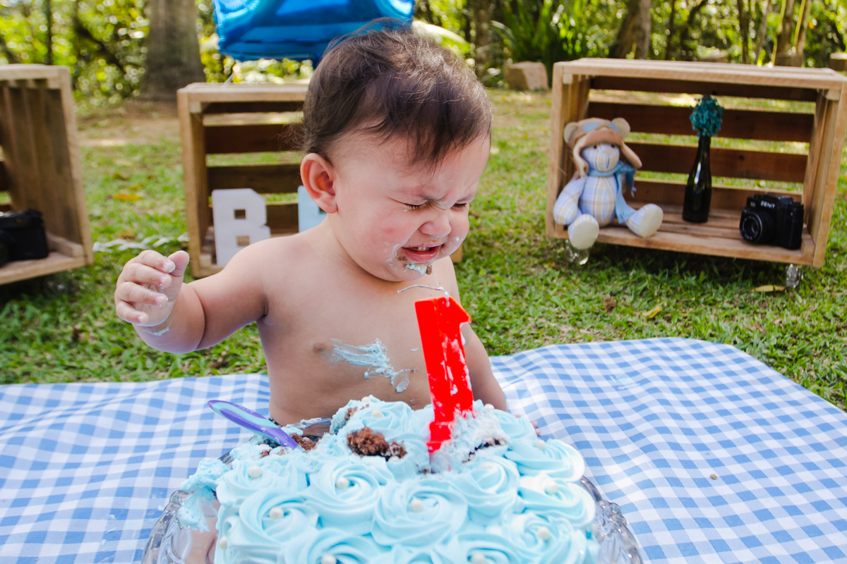 Foto de Benjamin -Smash The Cake