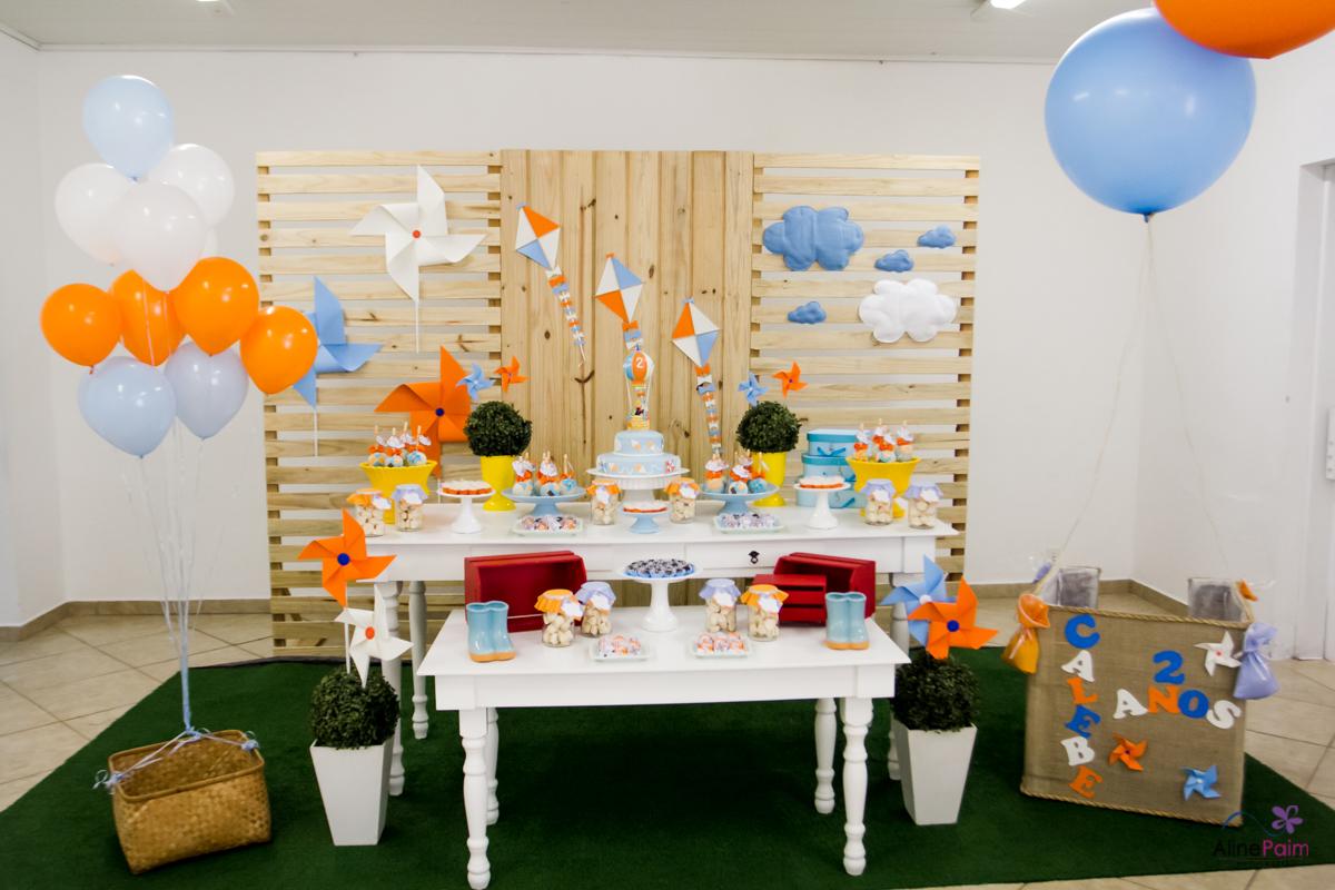 decoração foto balão, decoração festa infantil, festa menino,