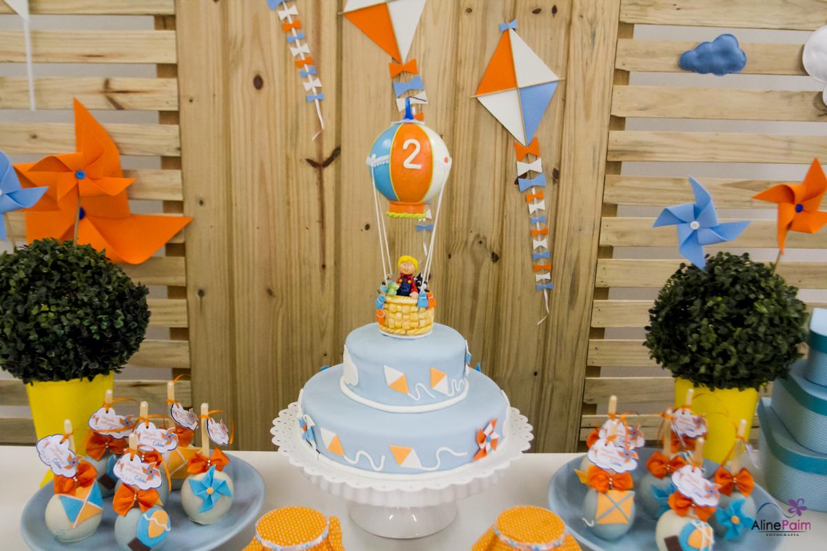 decoração foto balão, decoração festa infantil, festa menino, bolo tema balão, balão magico