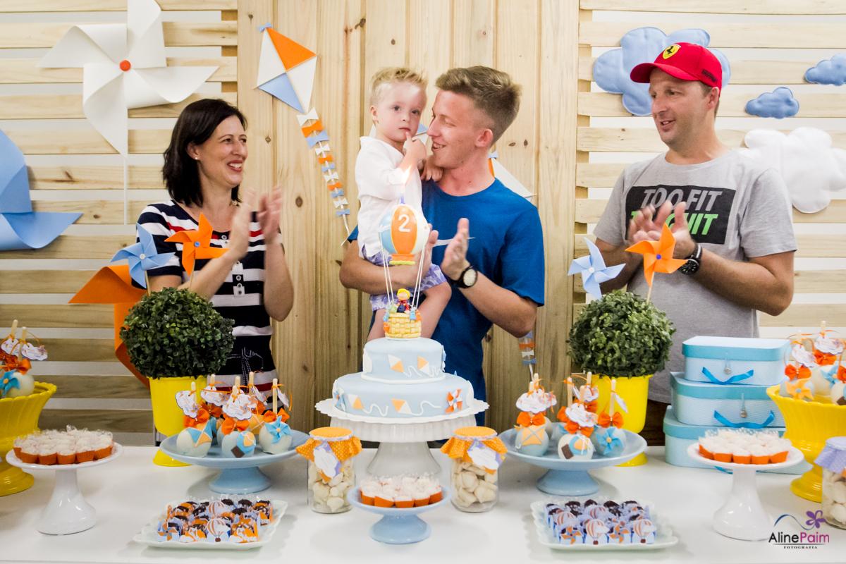 hora do parabéns, festa balão, tema balão, parabéns para você