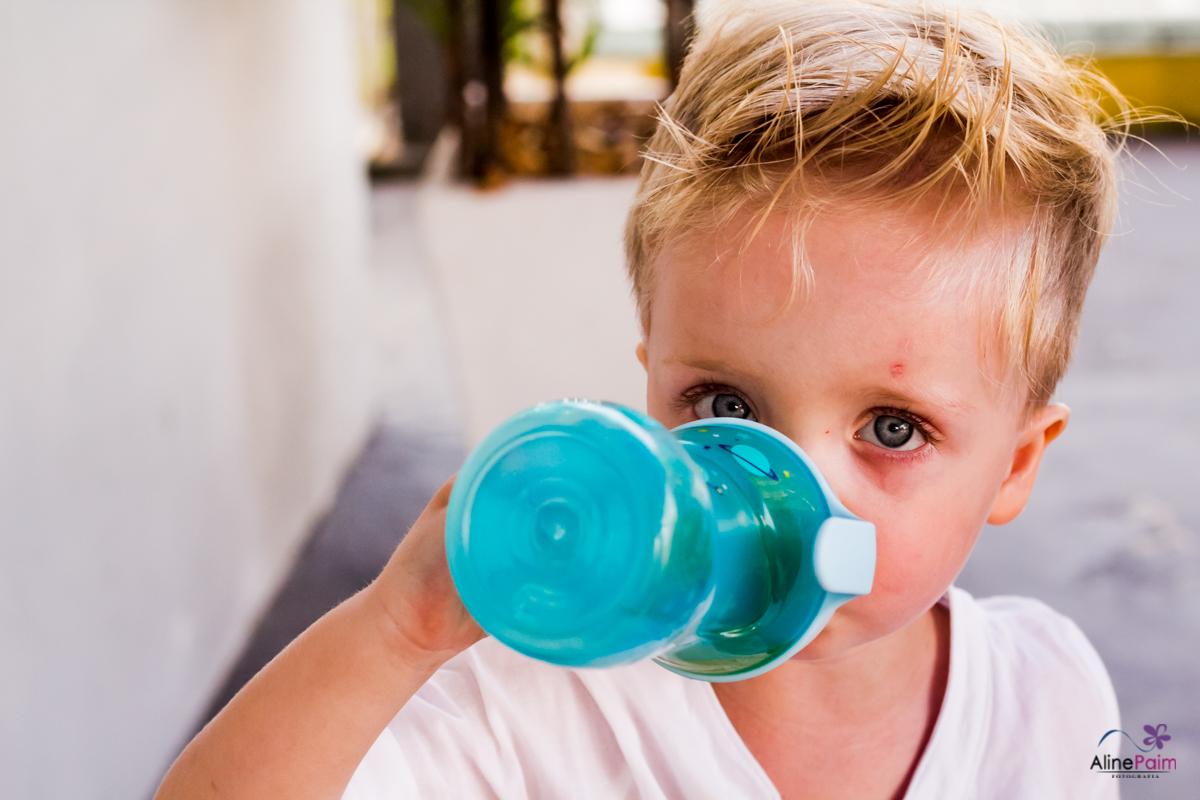 festa infantil, olho azul