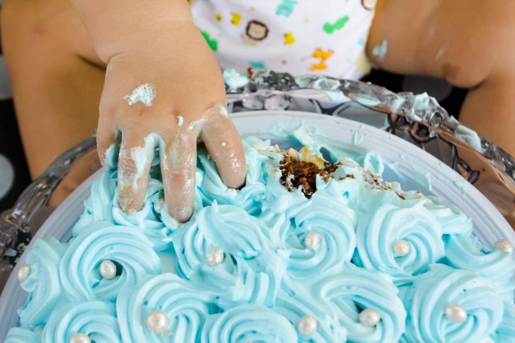 smash the cake, joinville, aline paim fotografia, ensaio bebê, ensaio externo com bolo, bolo, ana bolos e salgados
