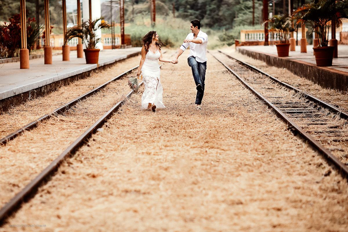 Foto de Denise e Alexandre