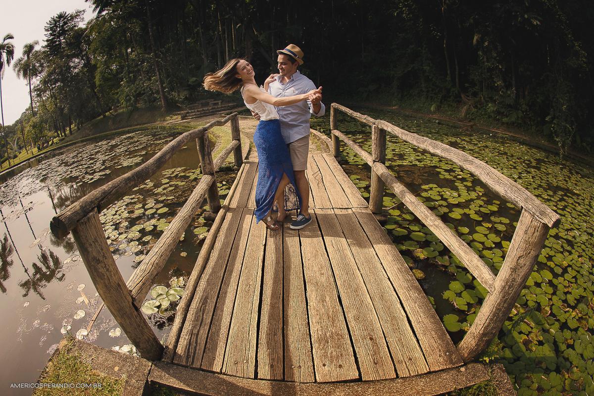 Curso de Fotografia Workshop Ensaios que aconteceu em São Paulo no Jardim Botânico  Daniele e Bruno