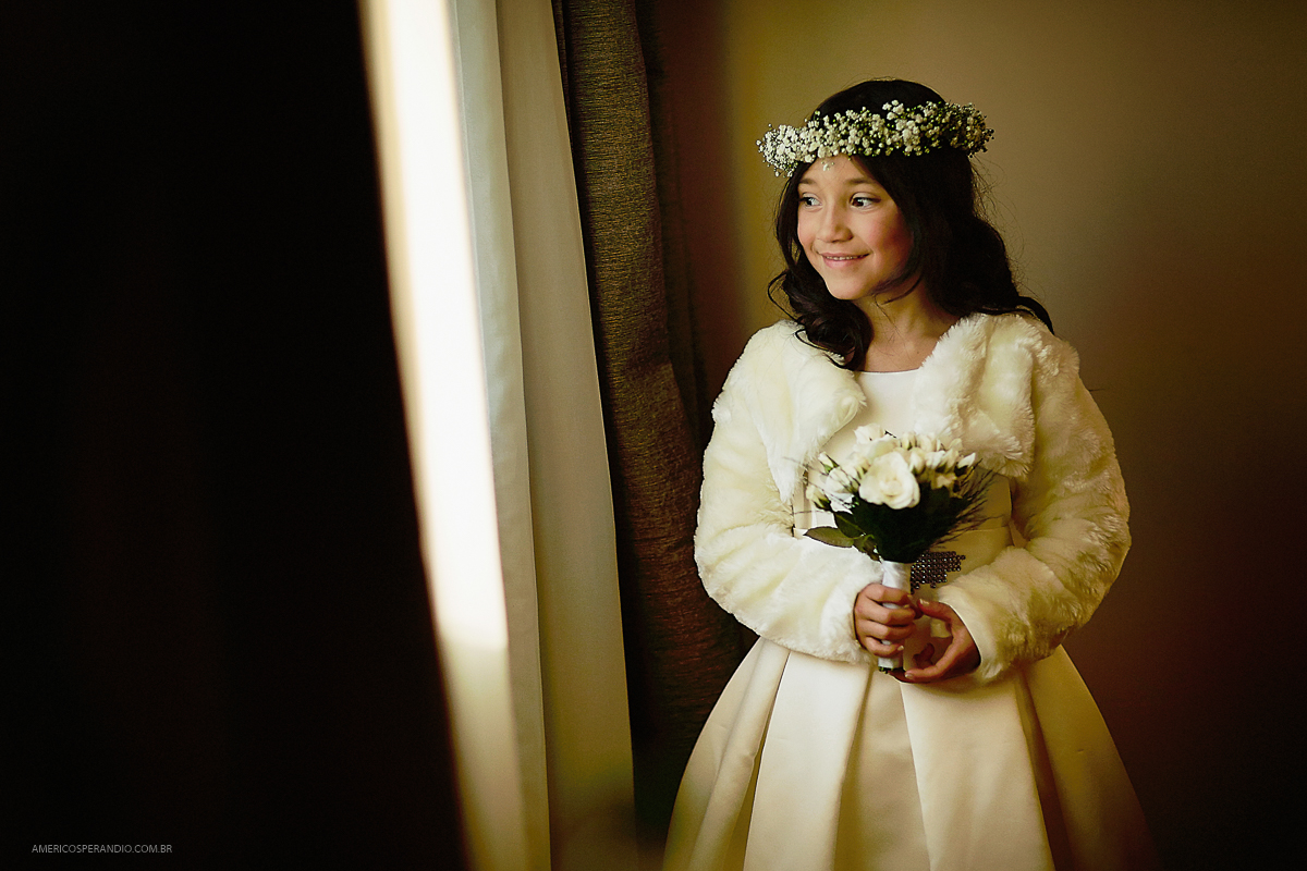 Fotos de casamento, dia da noiva, roupa para daminha, americo sperandio