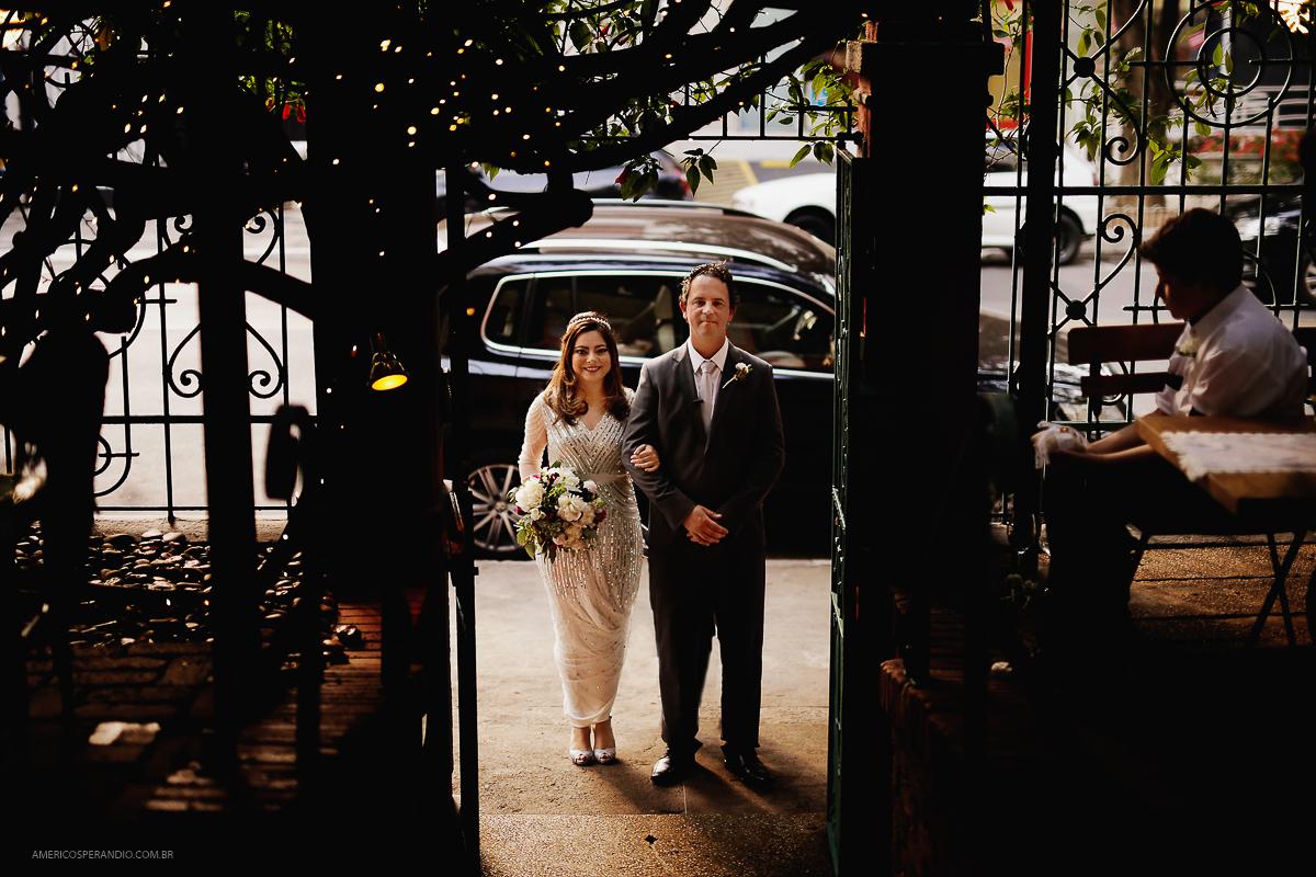 Foto de Carolina e Guilherme