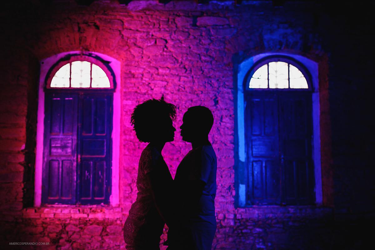 Foto de Letícia e Evandro