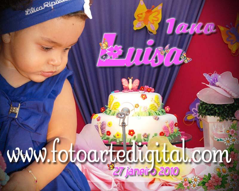 Foto de 1 Ano de Luisa