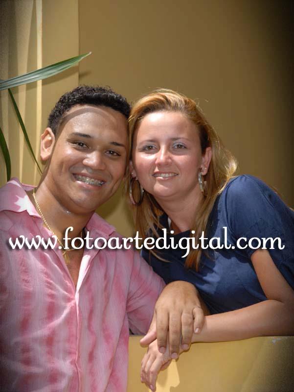 Foto de Michelly e Leonardo