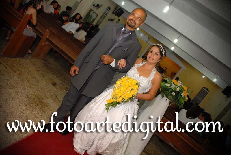 Foto de Luciene e Marivaldo