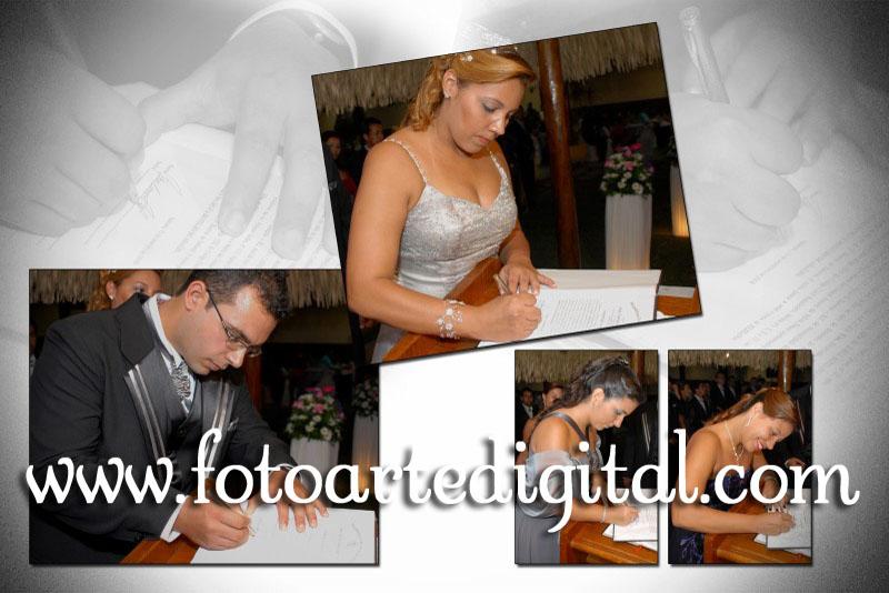 Foto de Elizana e Bruno