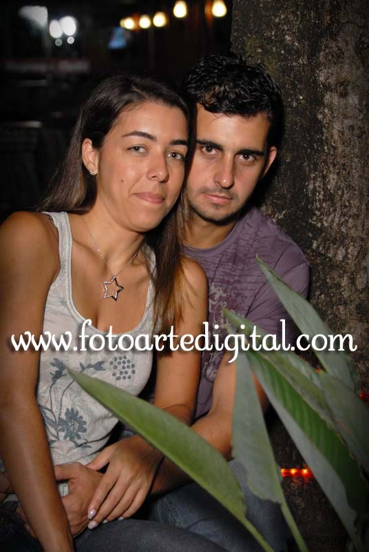 Foto de Geisa e Leandro