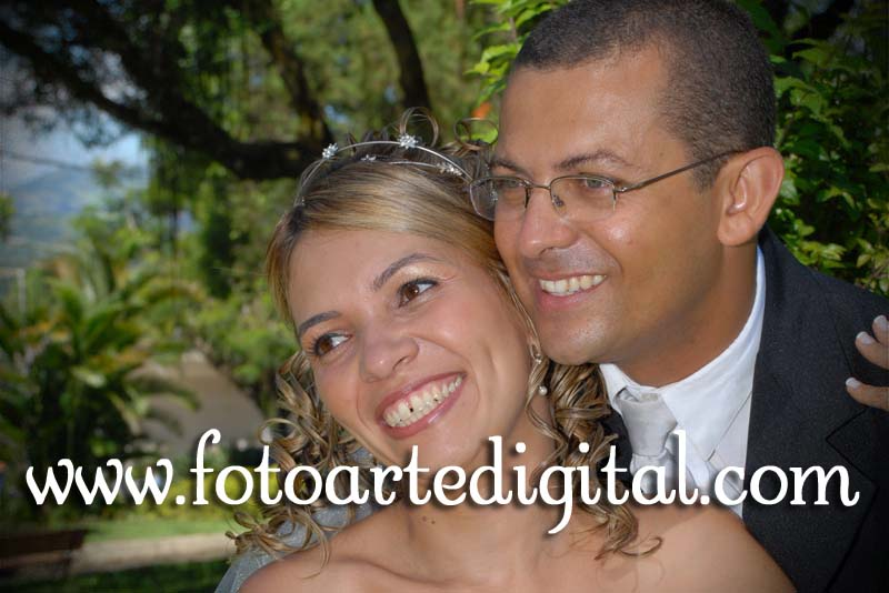 Foto de Raquel e Reinaldo