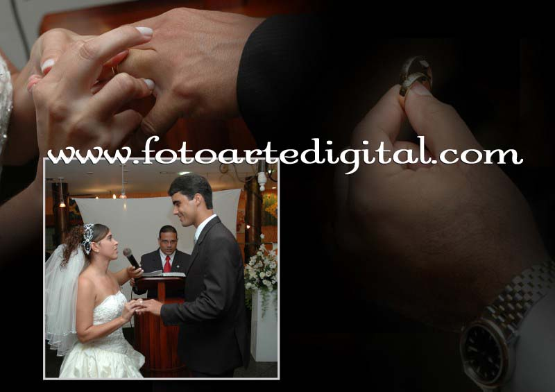 Foto de Vanessa e Leandro