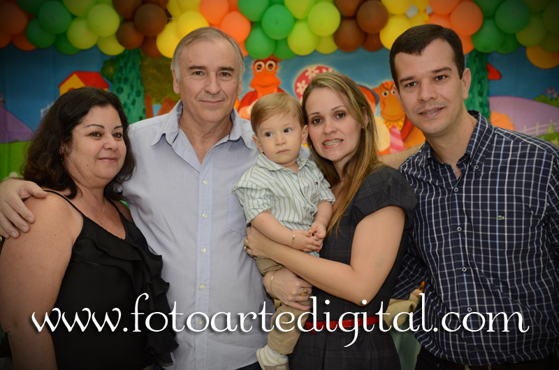 Foto de 1 Ano de Guilherme