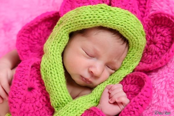 Newborn de Valentina 7 dias