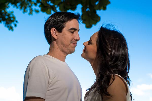 Ensaios de Stephanie e Sergio