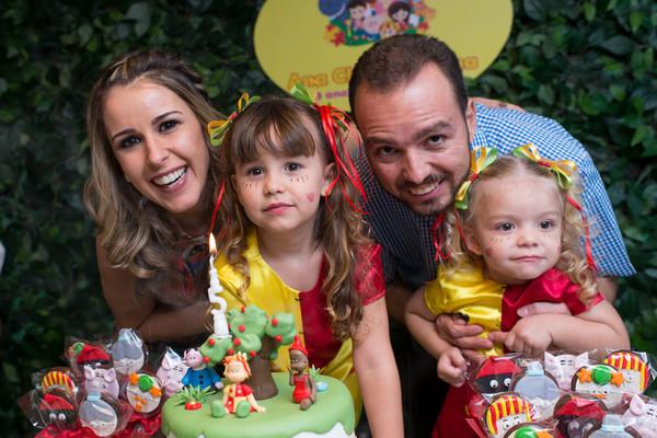 Festa Infantil de Aniversário Ana Clara e Juliana