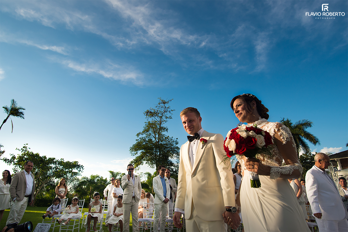 Casamento campestre na Colombia