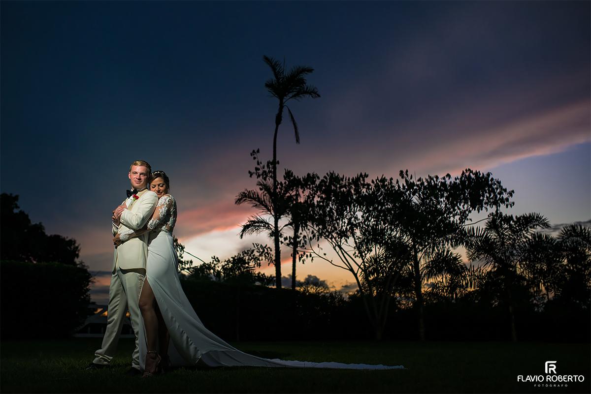 sessao de fotos com os noivos