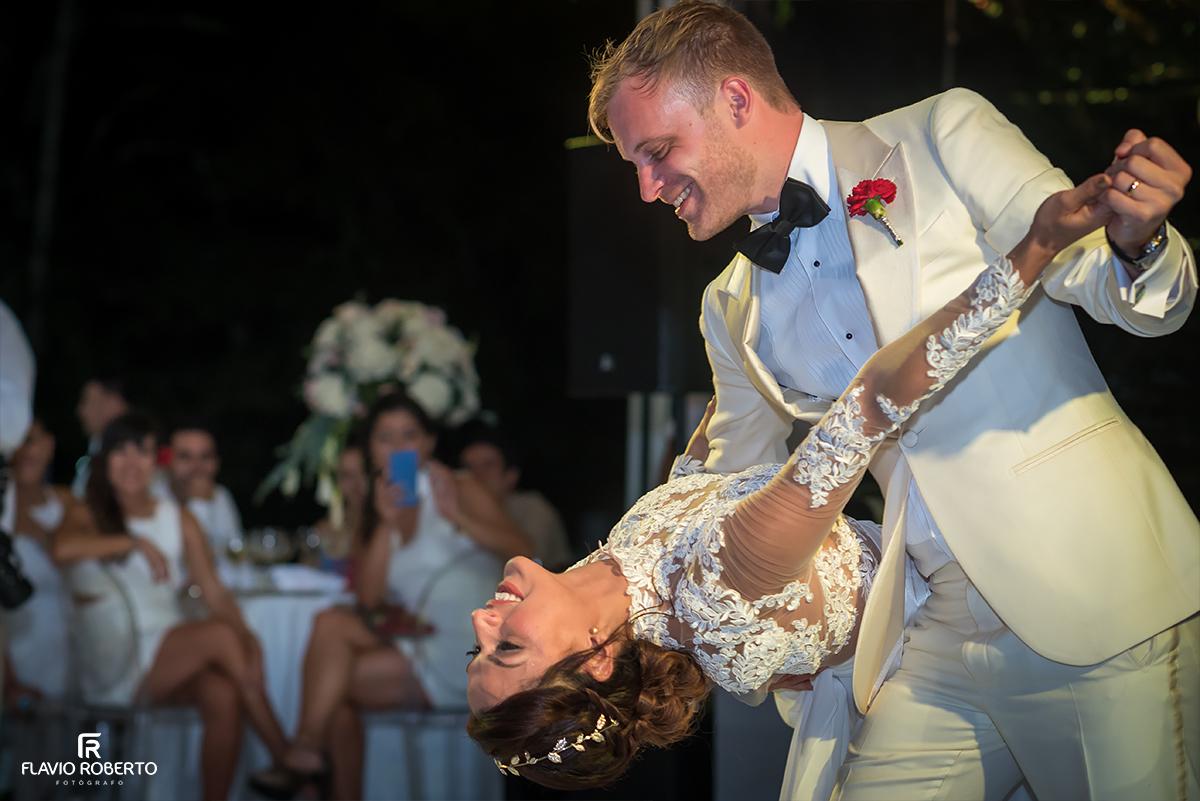 primeira dança dos esposos