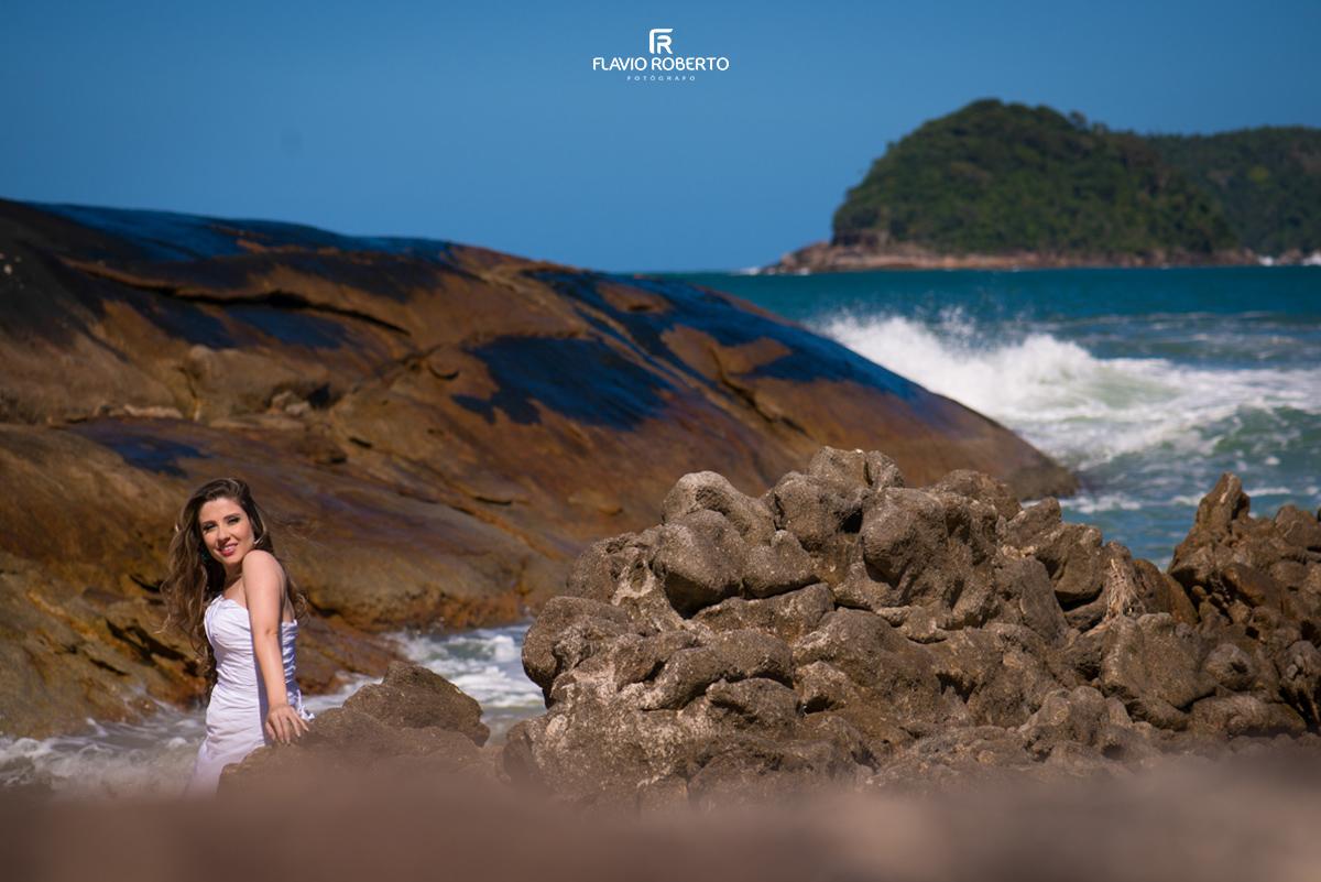 Noiva linda em Paraty RJ