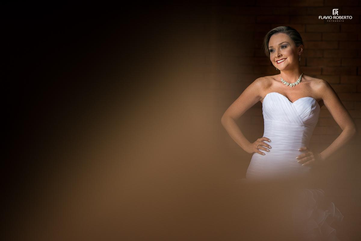 noiva linda pronta para se casar