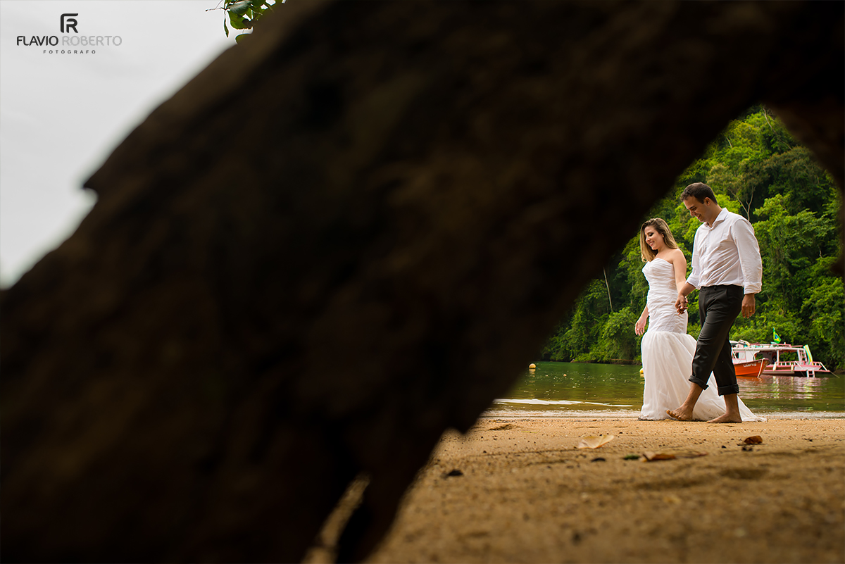 Trash the Dress em Paraty