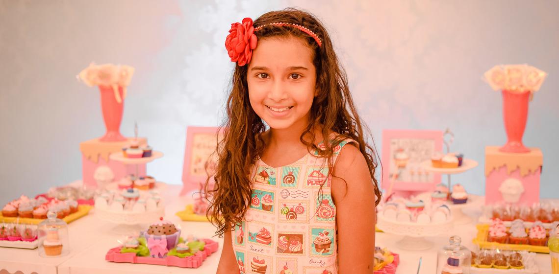 Ana Caroline 10 anos