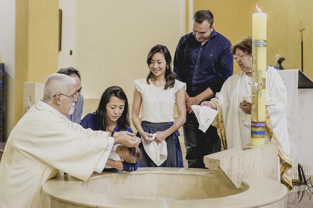 a hora do batismo na paroquia sao jose da vila zelina