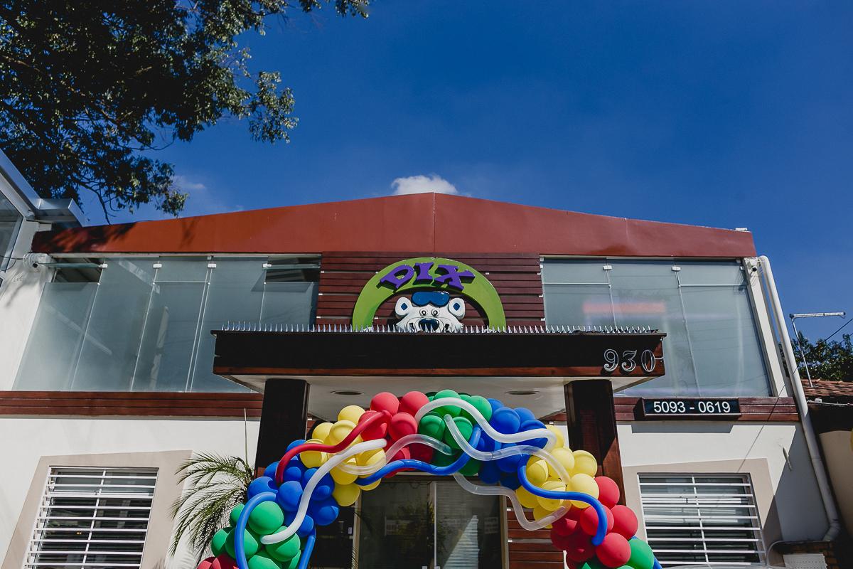 fachada do buffet dix club localizado em Campo Belo zona sul sp
