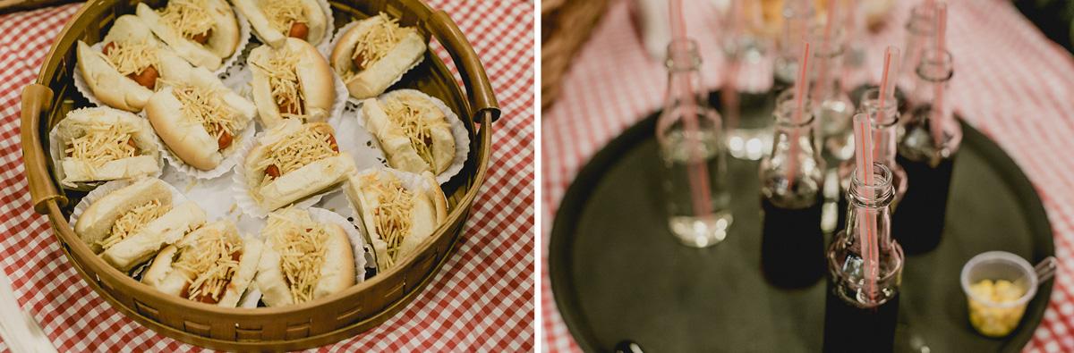 mesa de piquenique no buffet mago ratimboom