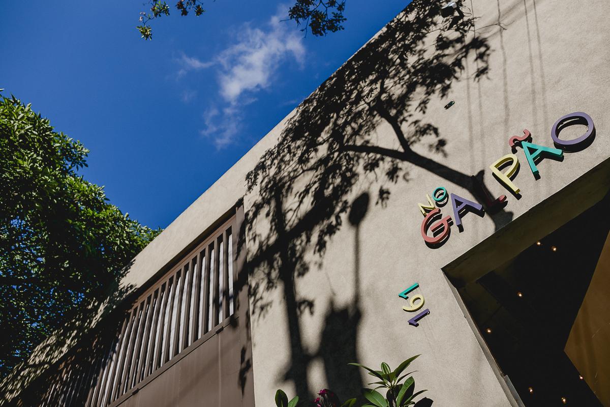 fachada do buffet no galpao localizado em pinheiros sao paulo sp