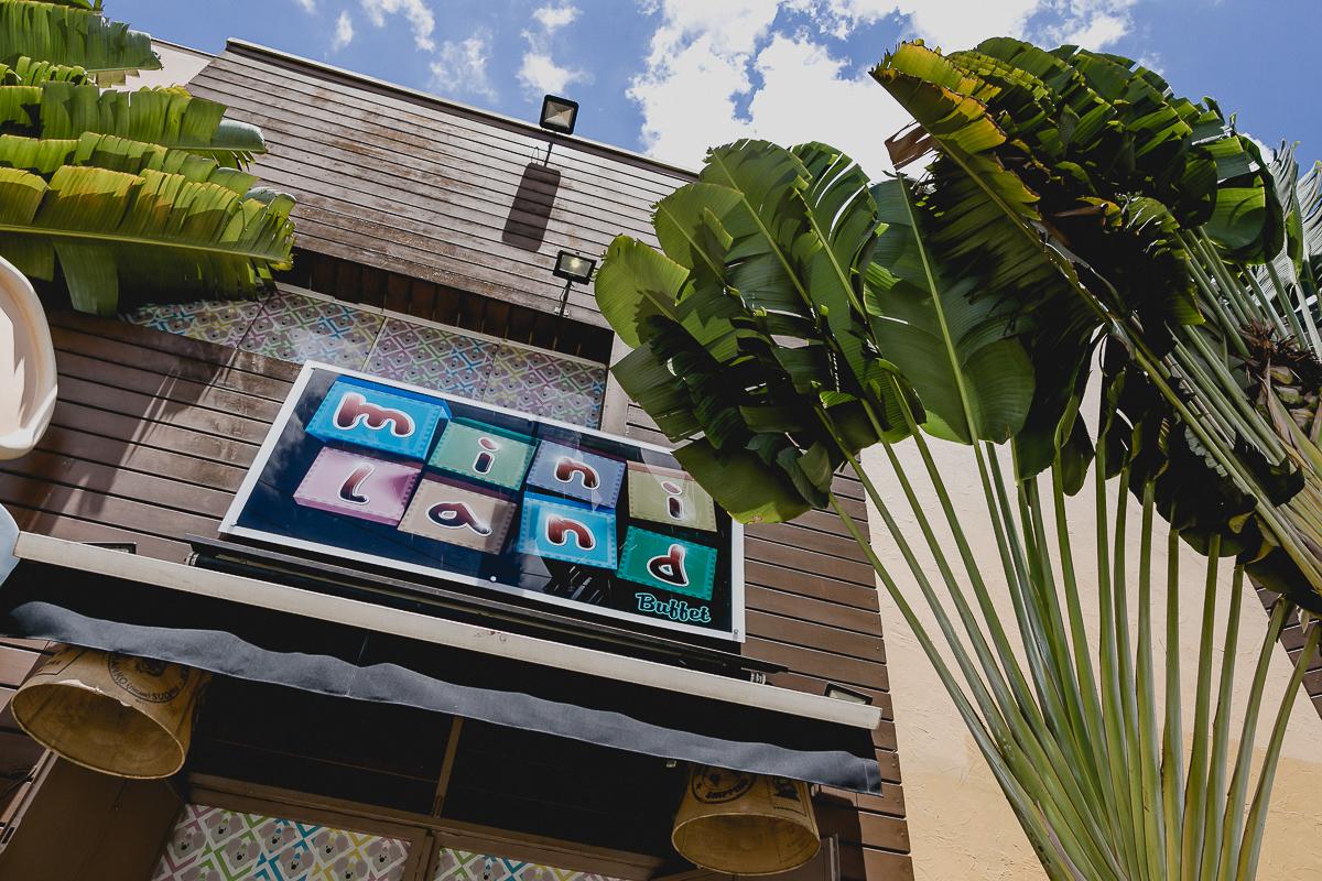 fachada do buffet miniland localizado no bairro do tatuape sao paulo sp