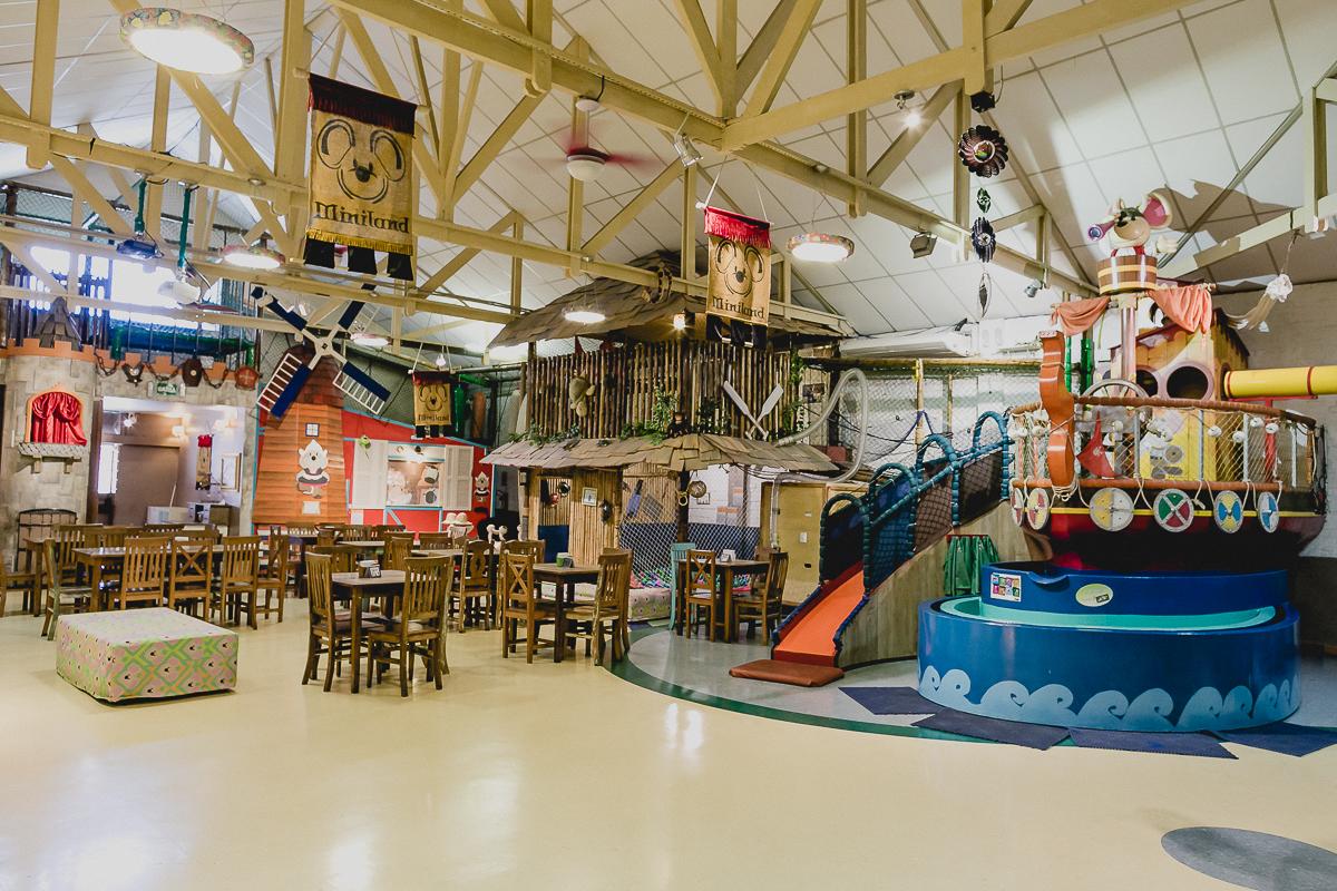 interior do buffet miniland localizado no bairro do tatuape sao paulo sp