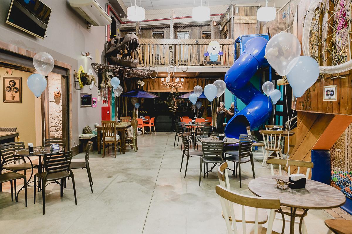 interior e atrações do buffet museu miniland localizado no bairro do tatuape sao paulo sp