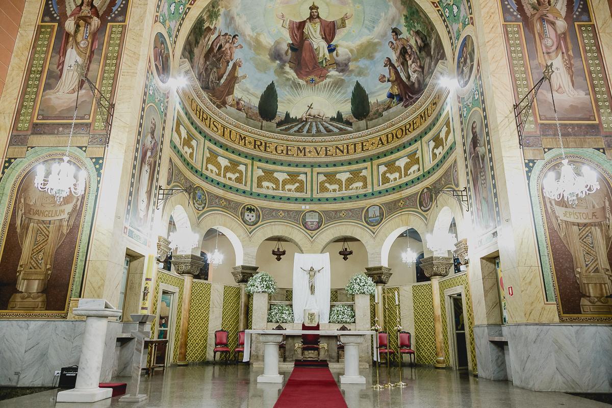 interior da igreja matriz sagrada familia em sao caetano do sul sp