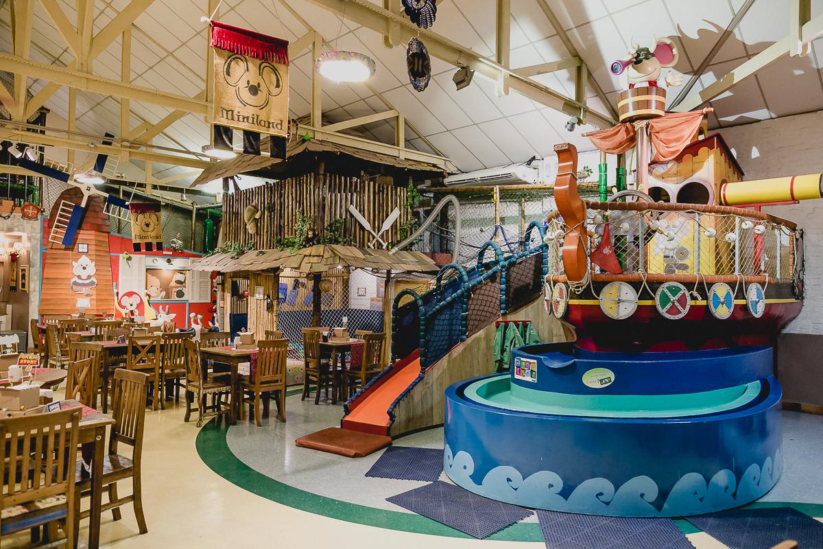 interior do buffet miniland localizado no bairro do tatuape sp