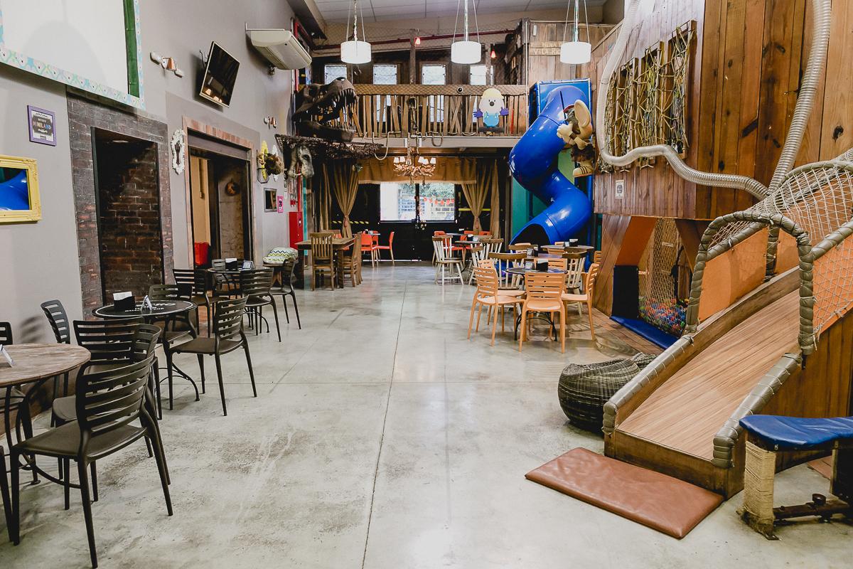 interior e atracoes do buffet miniland museu localizado no bairro do tatuape sao paulo sp