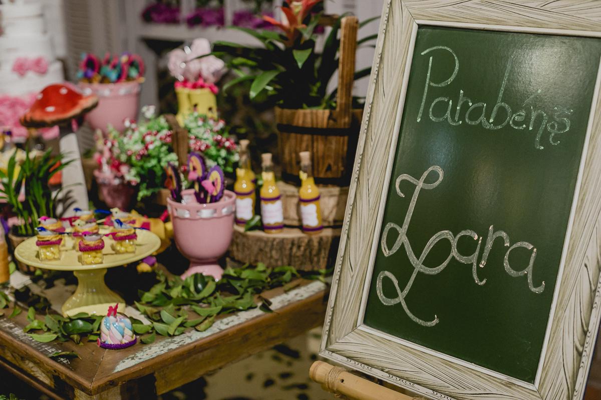 detalhes da mesa do bolo feita pela marcia colonese decoradora festa infantil