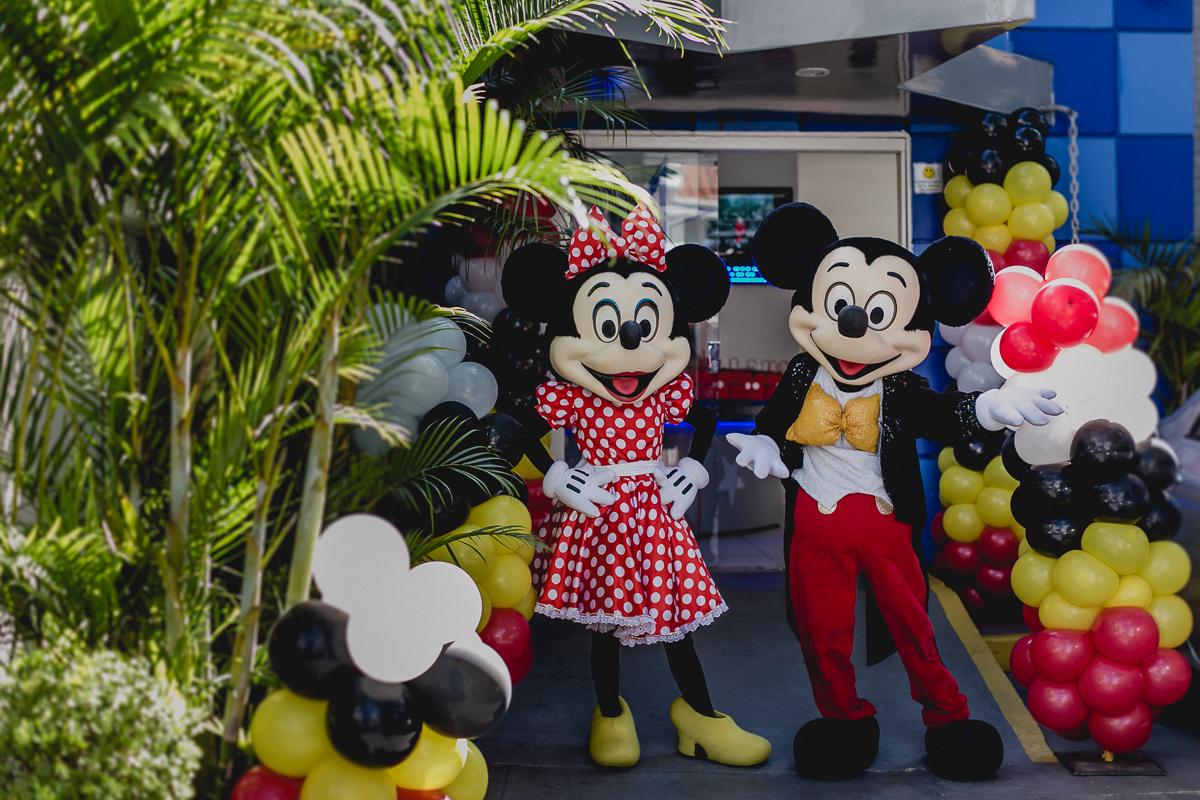 Mickey e Minnie no Buffet Happy Club - Moema - SP