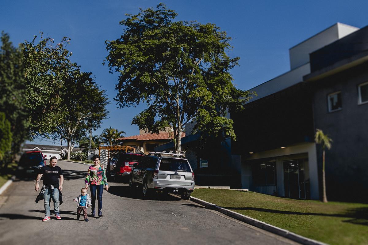 Descendo a rua de casa no no Residencial Euroville - Carapicuiba - SP