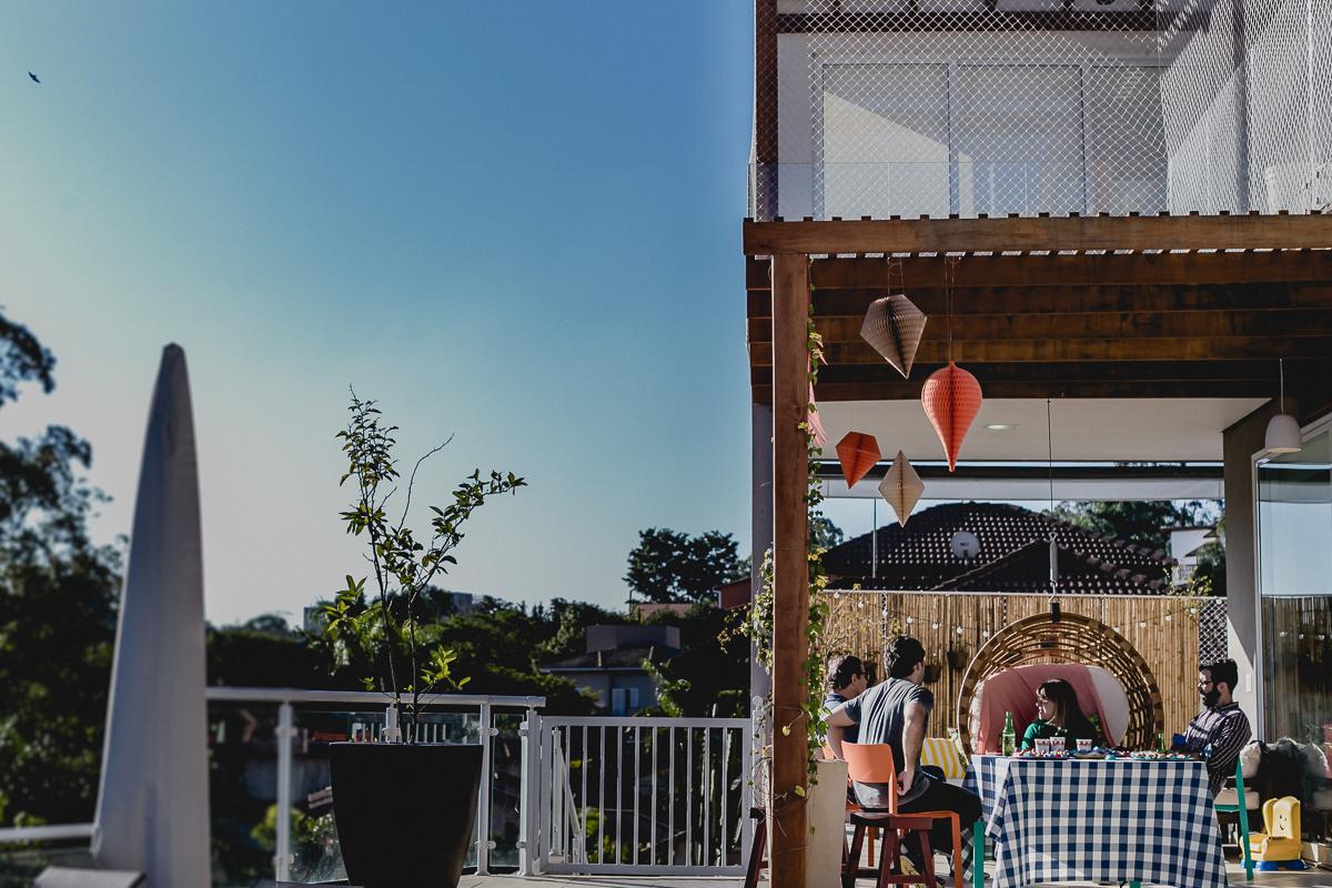 Festa no quintal de casa no Residencial Euroville - Carapicuiba - SP