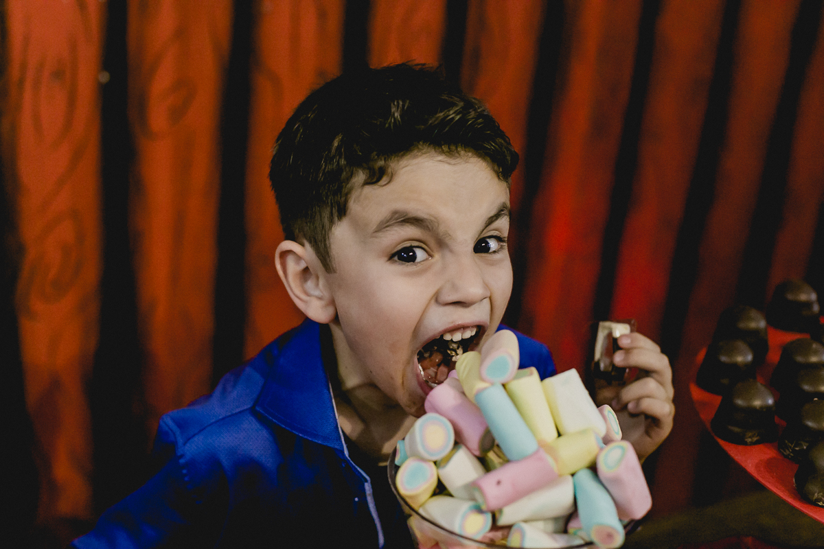 Enchendo a barriga de muitos doces no Espaço Diversão e Arte - Zona Norte - SP