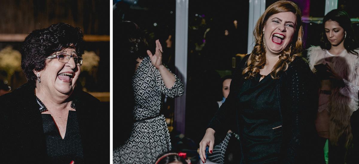 Dançando na balada na festa de 15 anos nos Jardins - SP