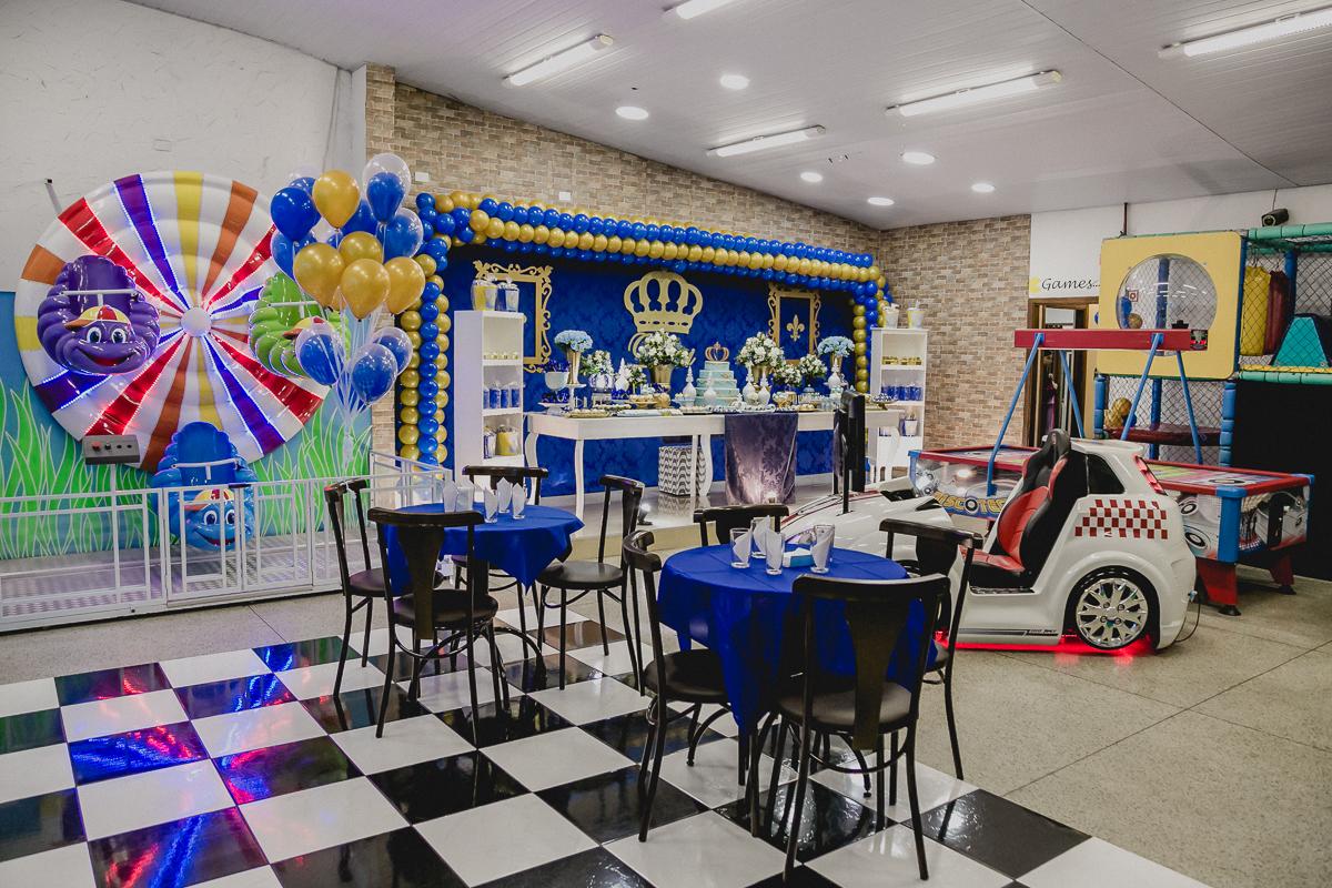 Interior do buffet viva la vita