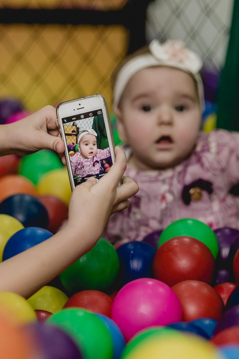 foto do celular da bebe