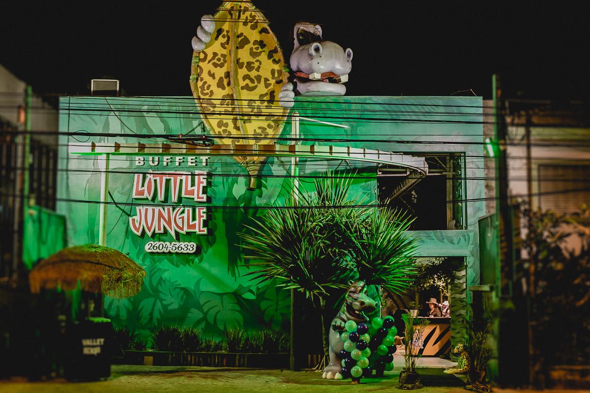 fachada do buffet little jungle localizado na mooca sp
