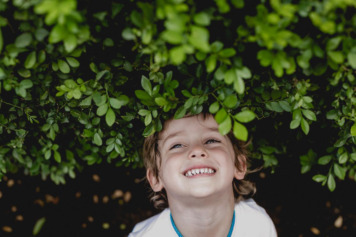 colocando a cabeça nas plantinhas